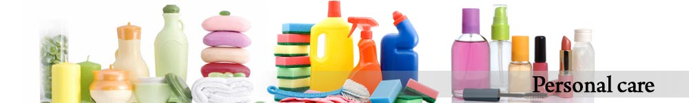 Personal care, Industrial and Household hygiene
